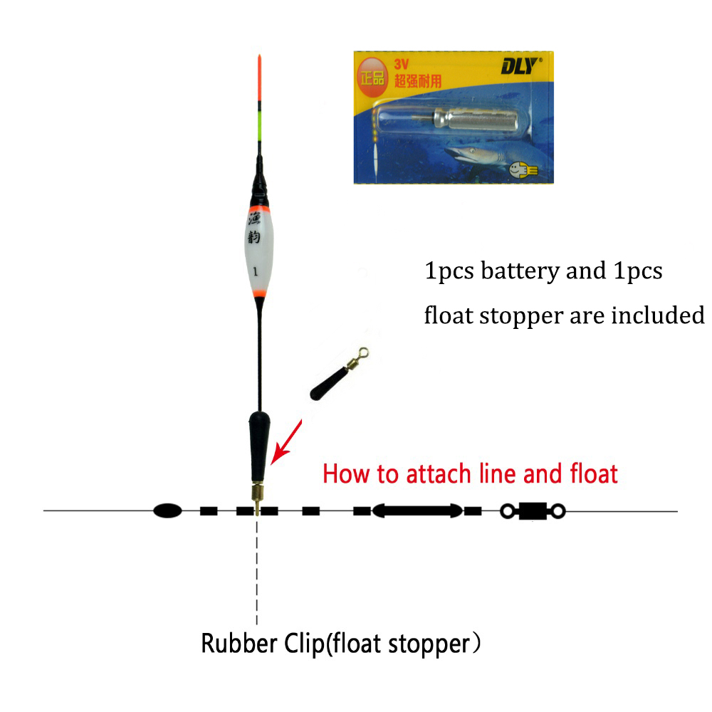 articulos Bobbers Battery Float