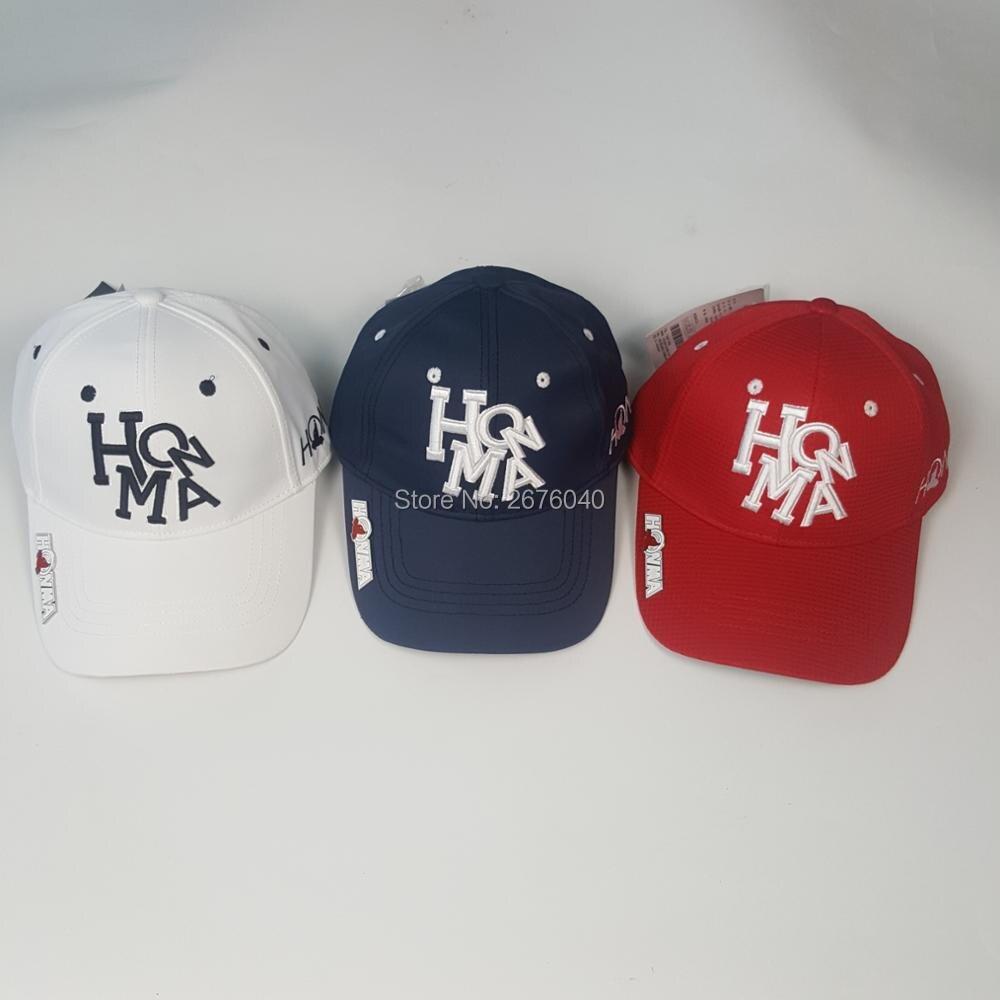 2017 גולף כובע HONMA בייסבול כובע חיצוני כובע חדש קרם הגנה צל ספורט גולף כובע משלוח חינם