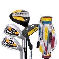 PGM Golf Children 4 PCS Clubs Junior Boy Complete Set Clubs Standard Package Girl Beginner Putter