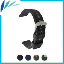 Ремешок нейлоновый для наручных часов тканевый браслет в стиле