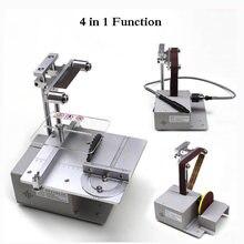 Электрическая ленточная шлифовальная машинка многофункциональный