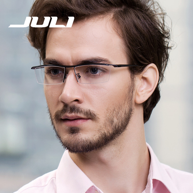 Favoritos JULI Men Optical Frames Eyeglasses Frames Reading Glasses Men TR90  RE98