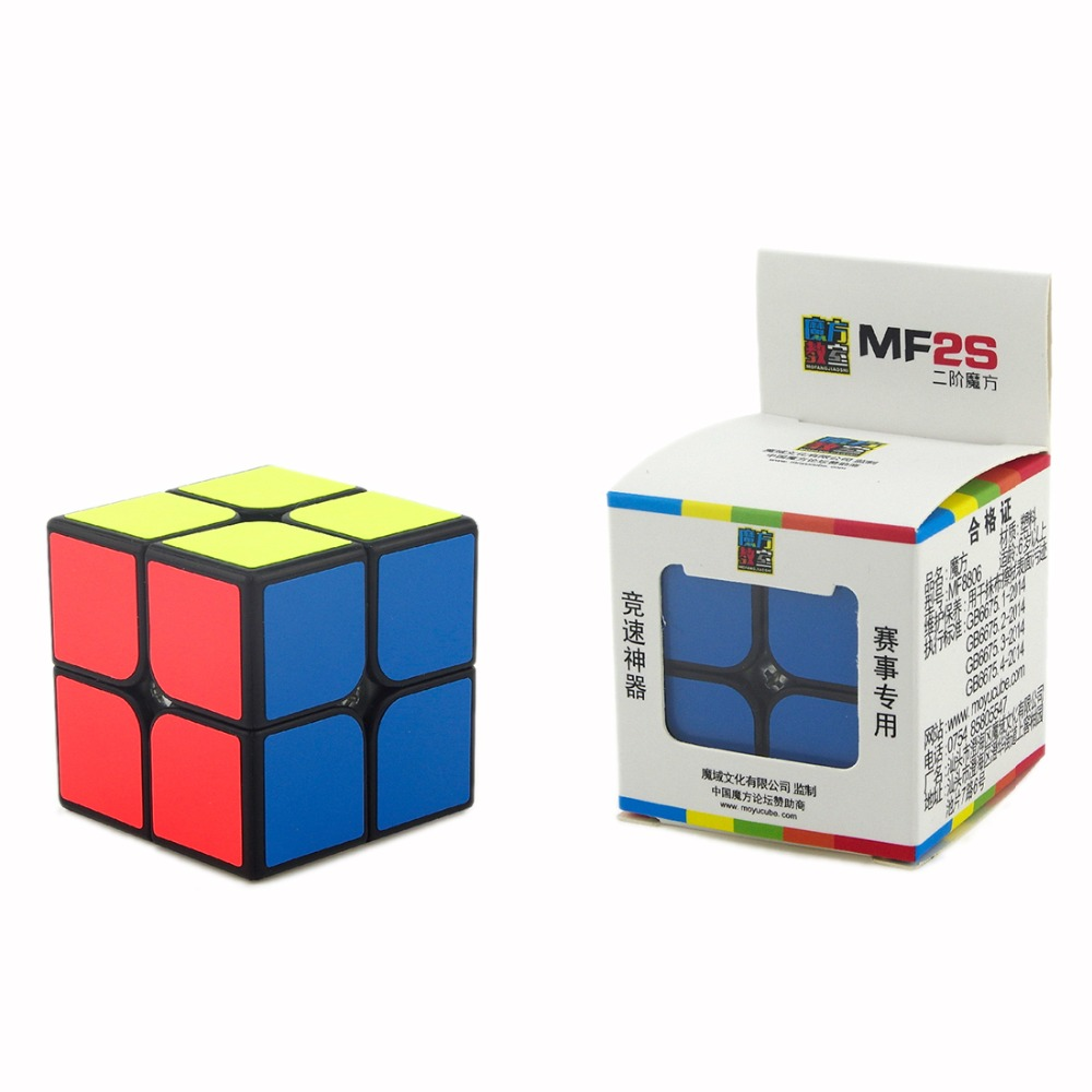 Original MOYU MF2S Speed Cube 2X2X2 Puzzle Professional Match Cube Educational Gift Toys For Children Kids moyu mofangjiaoshi 2x2 3x3 4x4 5x5 speed cube gift box packing professional puzzle cubing classroom mf2s mf3rs mf4s mf5s cube