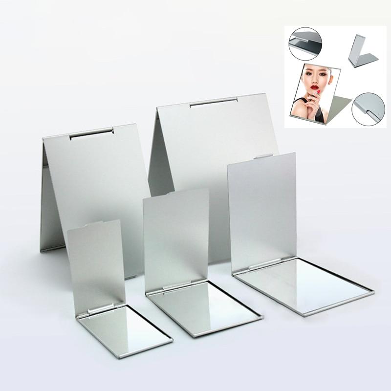 1 Stücke Faltbare Ultra-dünne Kosmetik Spiegel 5 Größen Machen Up Klapp Spiegel Rechteck Falten Make-up Dekorative Spiegel GroßE Vielfalt