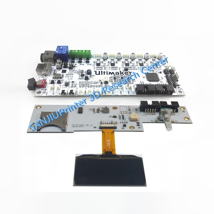 3D Printer Parts 2016 Latest Ultimaker V2.1.4 Control Board And Display Kits Ultimaker 2 Finished Main Motherboard