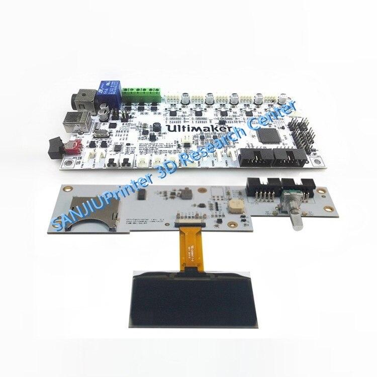 3D Printer Parts 2016 Latest Ultimaker V2.1.4 Control Board And Display Kits Ultimaker 2 Finished Main Motherboard3D Printer Parts 2016 Latest Ultimaker V2.1.4 Control Board And Display Kits Ultimaker 2 Finished Main Motherboard