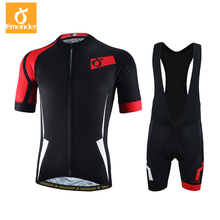 EMONDER Cycling Jersey 2018 Pro Team Men Summer Cycling Clothing Breathable MTB Road Bike Bicycle Clothes