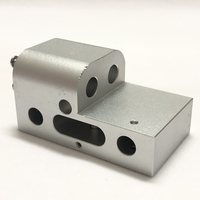 Prusa i3 MK2 XY axis fixed block Suitable for E3D Titan Aero printer right side aluminum slider CNC machining
