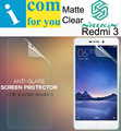 Nillkin Matte Screen protector film for Xiaomi Redmi 3 Anti-Glare