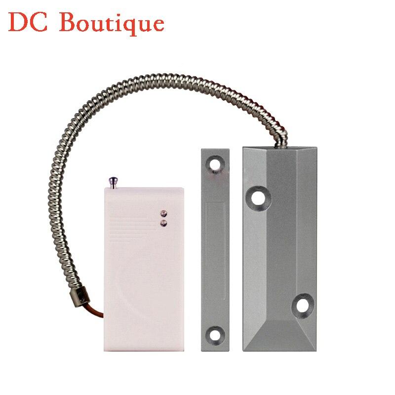 1 pcs Wireless Rolling Door Magnet Sensor automatic coding 433Mhz Link to font b alarm