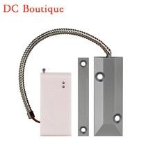 (1 pcs) Wireless Rolling Door Magnet Sensor automatic coding 433Mhz Link to alarm system Door open alarm Home security