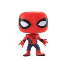 FUNKO POP Marvels Avengers 3 Super Hero Iron Man Action Figure Toys Captain America 3 Civil War Black Widow Panther Model