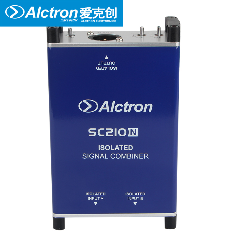 Alctron SC210N professional DI box microphone combiner combine two microphone balanced signals into one balanced microphone-in Microphones from Consumer Electronics    2