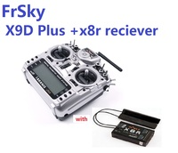 FrSky taranis x9d Плюс 2,4 г ACCST передатчик с x8r reciever аккумулятор картонной посылка для модели RC