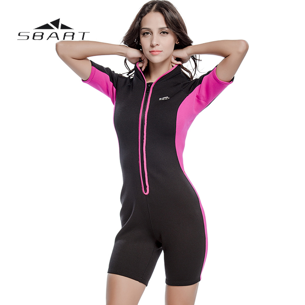 NYA SBART Kvinnor Scuba Dykning Shorty Wetsuit One Pieces Suit Kite - Sportkläder och accessoarer