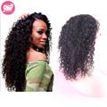 Malaysian Curly Hair Lace Front Wigs For Black Women 7A Malaysian Virgin Hair Glueless Full Lace Human Hair Wigs With Baby Hair