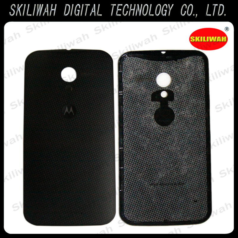 Retail Original Black Battery Cover for Motorola MOTO X PHONE XT1058 Phone Slim Case Back Cover Battery Housing
