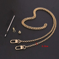 Bag Parts & Accessories Brand Bags Chain Golden 100cm 130cm Handbag Chain Optional Size