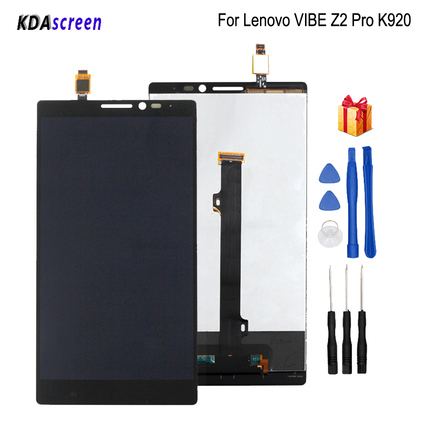 For Lenovo VIBE Z2 Pro K920 LCD Display Touch Screen Assembly For Lenovo VIBE Z2 Pro Screen LCD Display Phone Parts Free ToolsFor Lenovo VIBE Z2 Pro K920 LCD Display Touch Screen Assembly For Lenovo VIBE Z2 Pro Screen LCD Display Phone Parts Free Tools