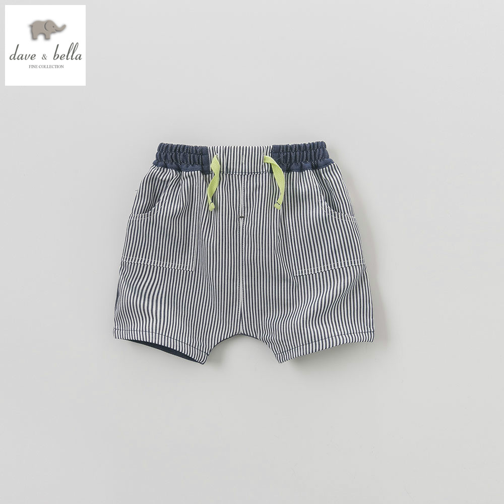 DB5866 dave bella summer baby boys shorts children infant pants childs toddle clothes boys cool pants kids striped shorts 220вольт скил 5866 аф