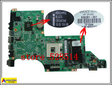 original Mainboard for DV6 DV6-3000 Laptop Motherboard s988 630281-001 100% Test ok