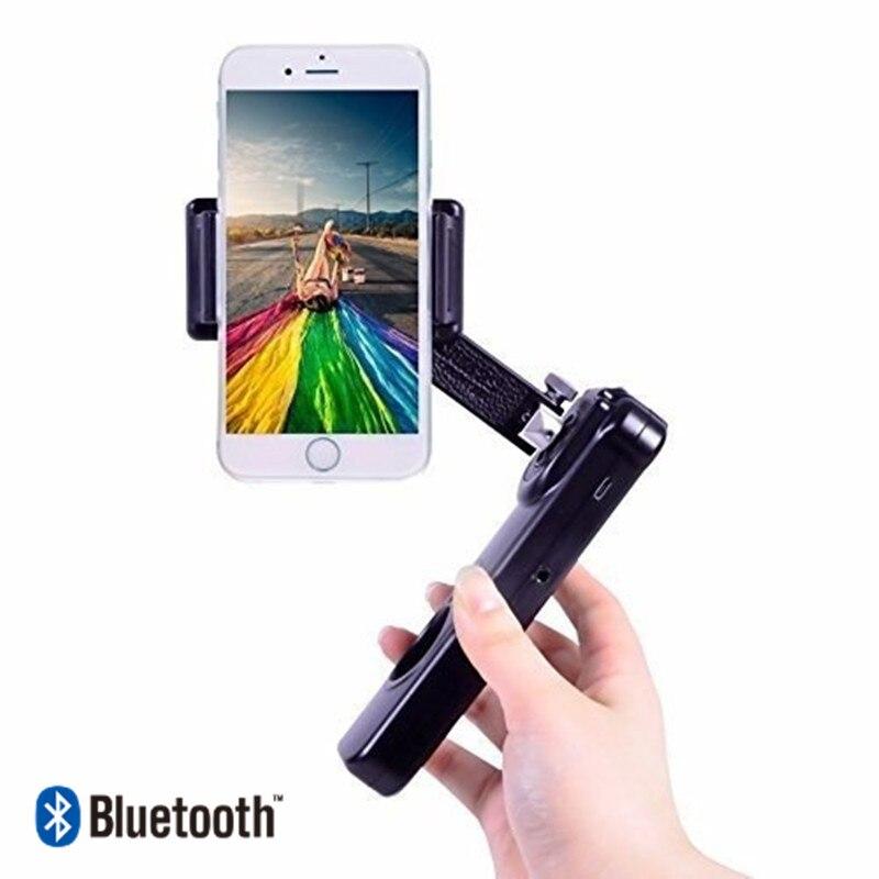 CHAUDE De Poche smartphone Portable De Poche Cardan Sans Fil 2-Essieu Téléphone Bluetooth téléphone stabilisateur pour iphone smartphone mobile