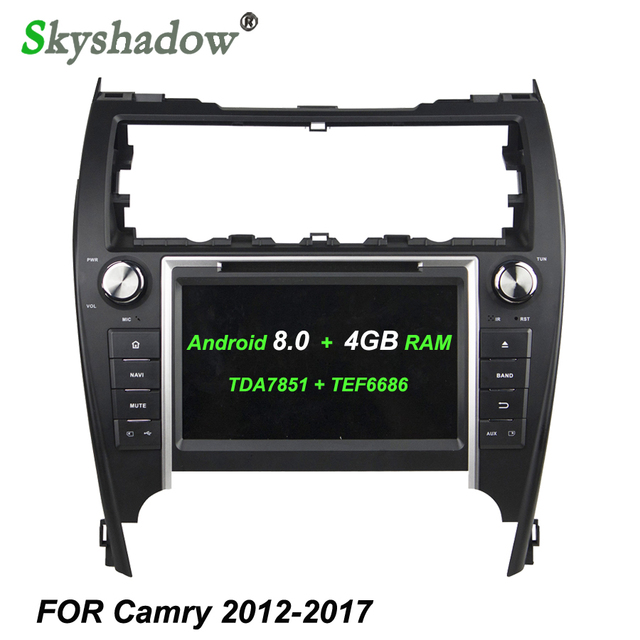 TDA7851 Android 8.0 For Toyota CAMRY 2012 2017 USA middle east 4GB ...