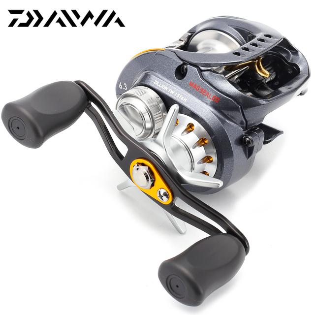 New 100% Original DAIWA Brand ZILLION TW 1516H RIGHT Left Hand Baitcasting Fishing Reel 6.3:1 8+1BB 215g Max Drag 5kg saltwater