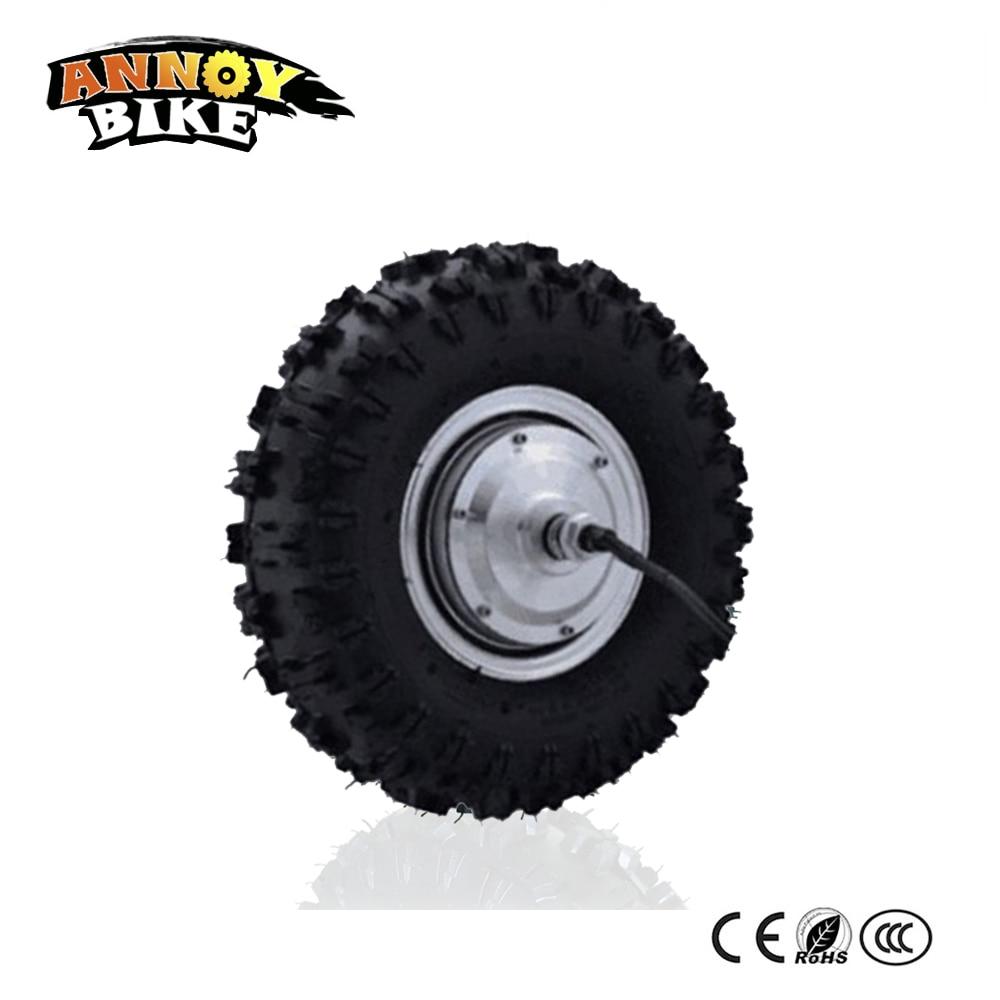 13 inch Electric Bicycle wheel motor 24v36V48V 350W 500W 800W hub motor electric bike accessories motor trolley handcart motor цена