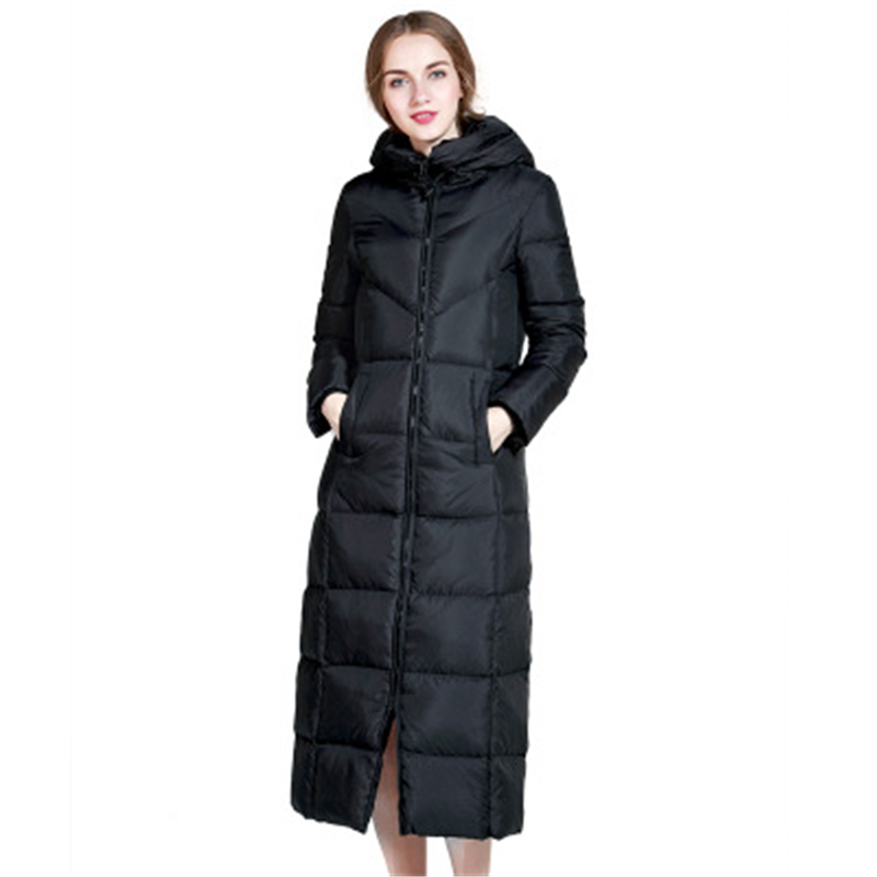 S-6XL Big Size Winter Women   Down     Coat   Ultra Light White Duck Parkas Windproof   Down     Coat   Large Size Fenale Warm   Down   Jacket D828