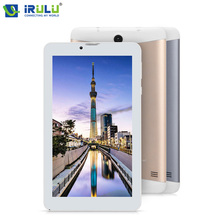 Cheapest Metal Cover iRULU 7″ Tablet X6 Android 7.0 Support 3G Bluetooth 4.0 GMS Certificated 1GB RAM 16GB ROM Tablet PC Wifi IPS Screen
