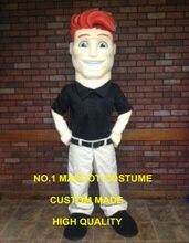 red hair man mascot costume customizable cartoon mascot costume anime cosply costumes fancy dress kits suit 2428