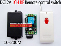 DC 12v wireless RF Remote Control Switch Transmitter+ Receiver 315MHZ/433mhz long distance remote control switch