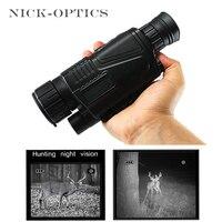 Монокуляр ночного видения Professional инфракрасный охотничий телескоп цифровой ночного видения Монокуляр телескоп с картой памяти 8 ГБ