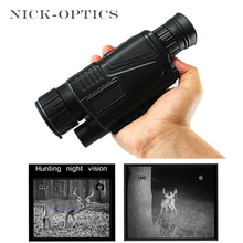 Night-Vision Monocular Professional Infrared Hunting Telescope Digital night vision Monocular telescope with 8GB memory card