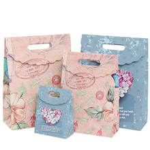 10pcs/lot Cute European Butterfly flower Paper Bag Decoration Multifunction Food Packing Gift Bags