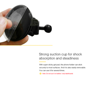Image 2 - Universal Car Bracket 360 Adjustable Degrees Phone Holder Bracket Auto Mounts For Car GPS Recorder DVR Camera