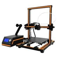 Анет E12 совершенный дизайн полусобранном 3d принтер машина дистанционного кормления 12864 ЖК дисплей Экран Impressora 3d наиболее популярные прочны