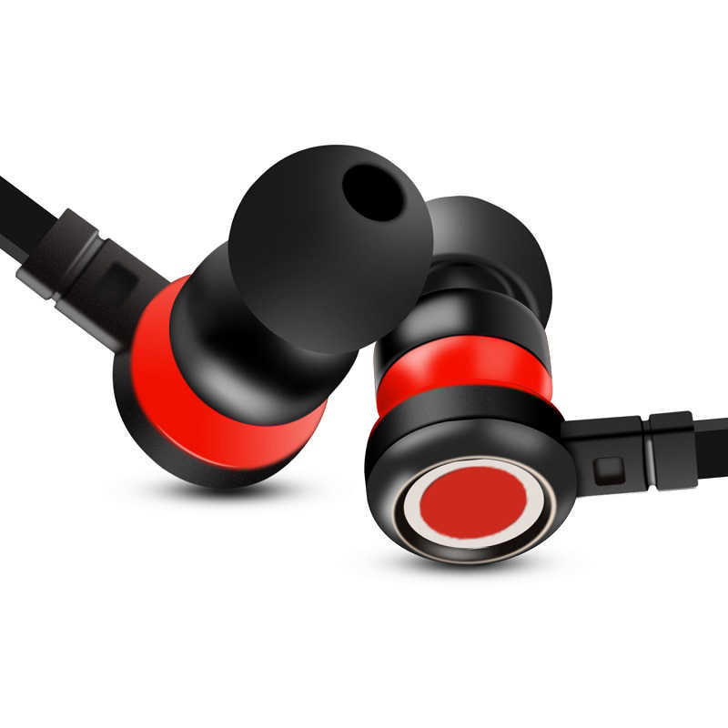 في الأذن سماعة مع mi c سوبر باس يدوي سماعات أذن استريو سماعة الألعاب لسامسونج S6 S7 S8 S9 S10 ل شياو mi mi 9 8 الأحمر mi