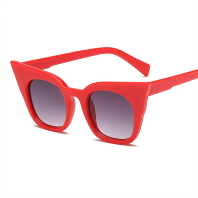 New Cat Eye Sunglasses Women Kids Vintage Shaped Sun Glasses Female Eyewear Brand Designer Sunglasses 4