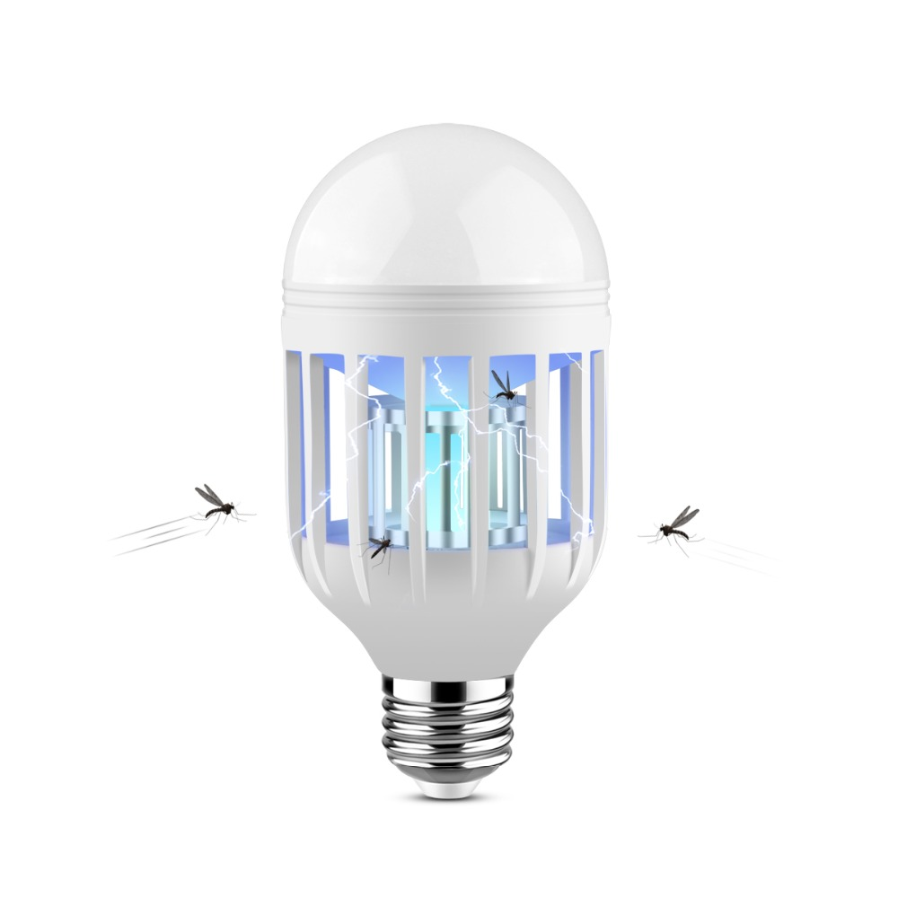 Electronic Insect Killer For Bug Zapper Light Bulb Mosquito Killer Lamp Mosquito Zapper Fly Killer Mosquito Trap E27 15w 220v Light Bulbs