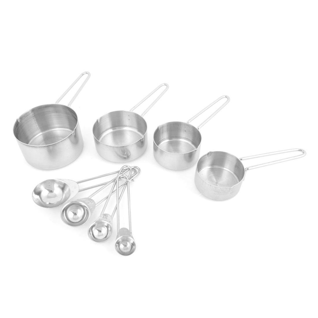 Kitchen Baking Cooking Stainless Steel Measuring Spoon Cup