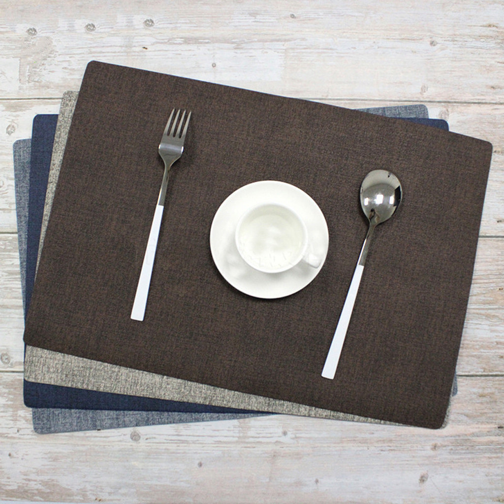 Dining Table Placemat Europe Style Kitchen Tool Heat Resistant