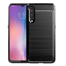 Carbon Fiber Phone Case for Xiaomi Mi 9 8SE 8Lite 5X 6X Soft