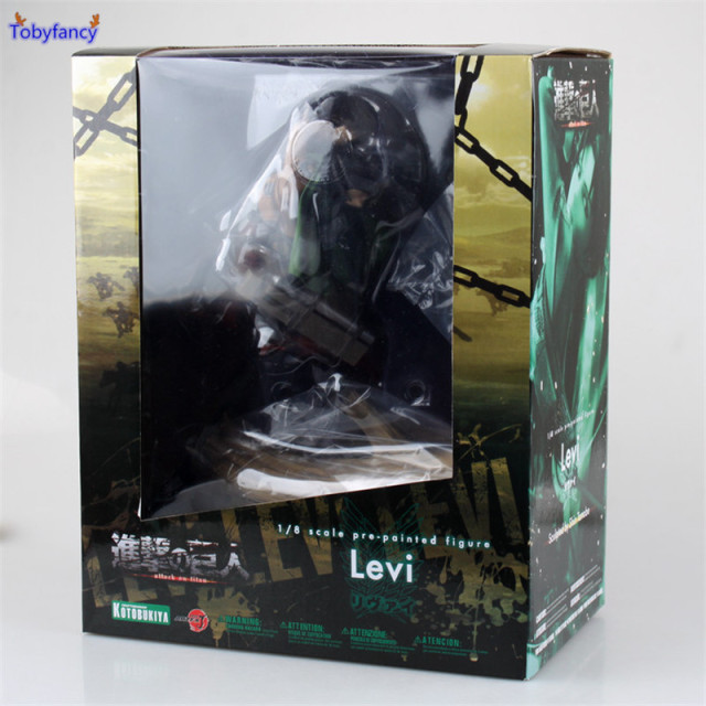Attack on Titan Levi Rivaille 1/8 Scale Figure Toys