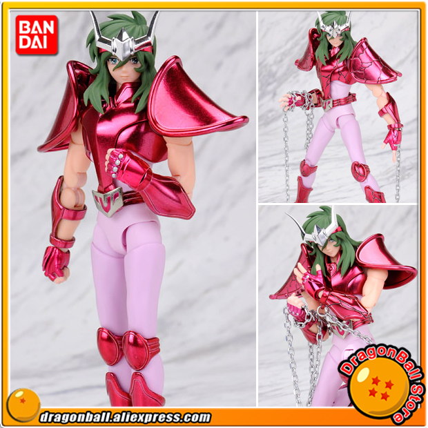 Saint Seiya Original BANDAI Tamashii Nations Saint Cloth Myth EX Action Figure -Andromeda Shun(New Bronze Cloth) цепочка