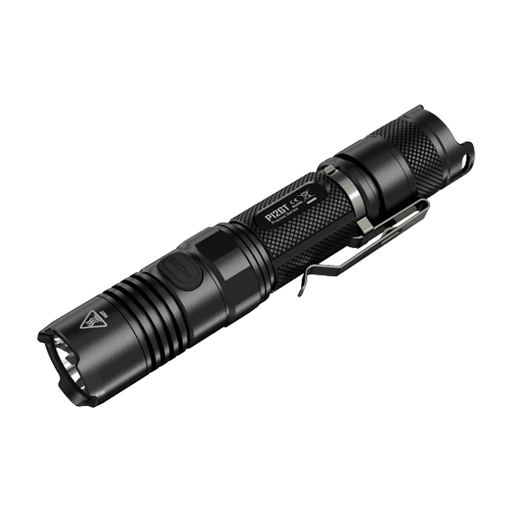 New NITECORE P12GT Tactical Flashlight 7 Mode 1000Lm CREE XP-L HI V3 LED 320 Meters Beam Distance 18650 Pocket EDC Free Shipping new klarus xt11gt cree xhp35 hi d4 led 2000 lm 4 mode tactical led flashlight free usb port and 18650 battey for self defence