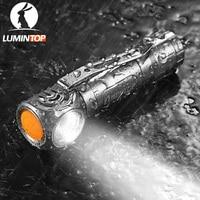 LUMINTOP HLAAA Mini Draagbare Multifunctionele Zaklamp Een Schakelaar Werking met Magnetische Staart Cap Aangedreven door AAA Batterij