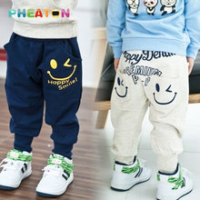 Улыбающихся шаровары случайные спортивная мальчиков мальчики хлопок брюки одежда дети