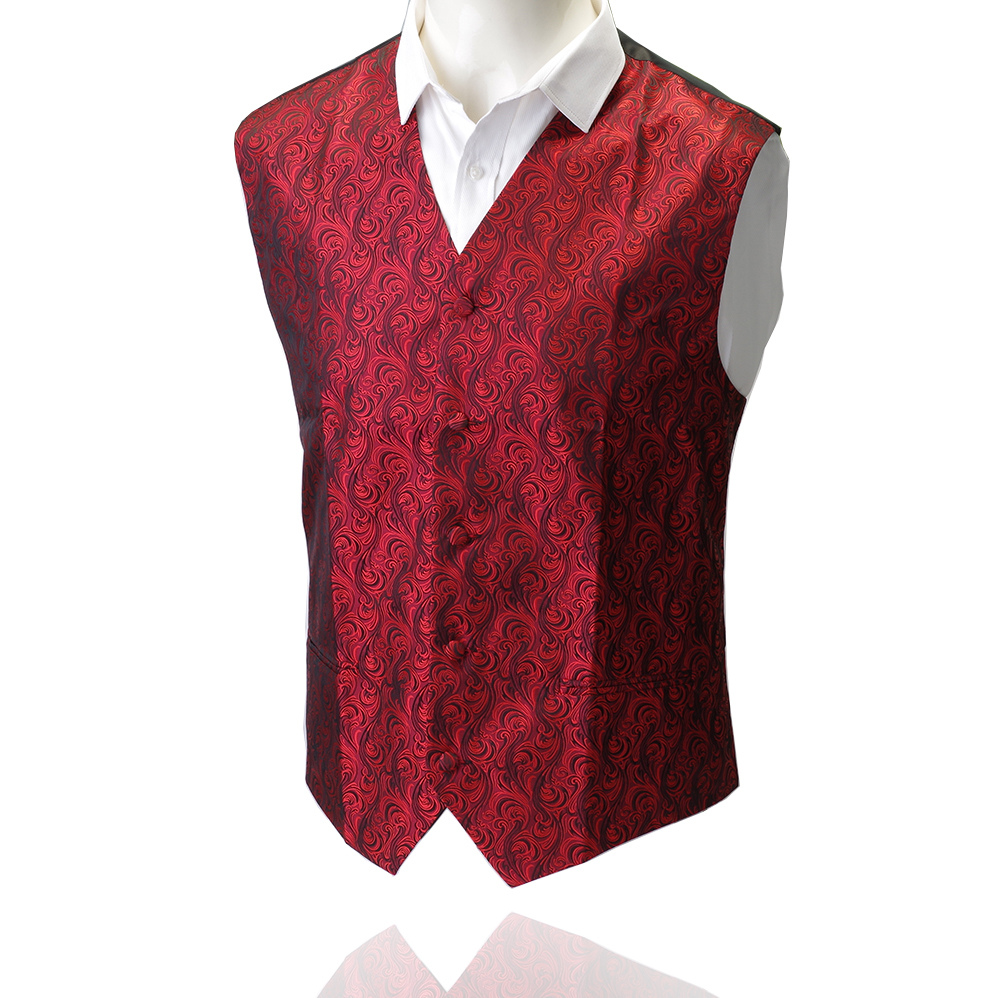 GUSLESON New Arrival Quality Vests For Men Slim Fit Mens Suit Vest Male Waistcoat Gilet Homme